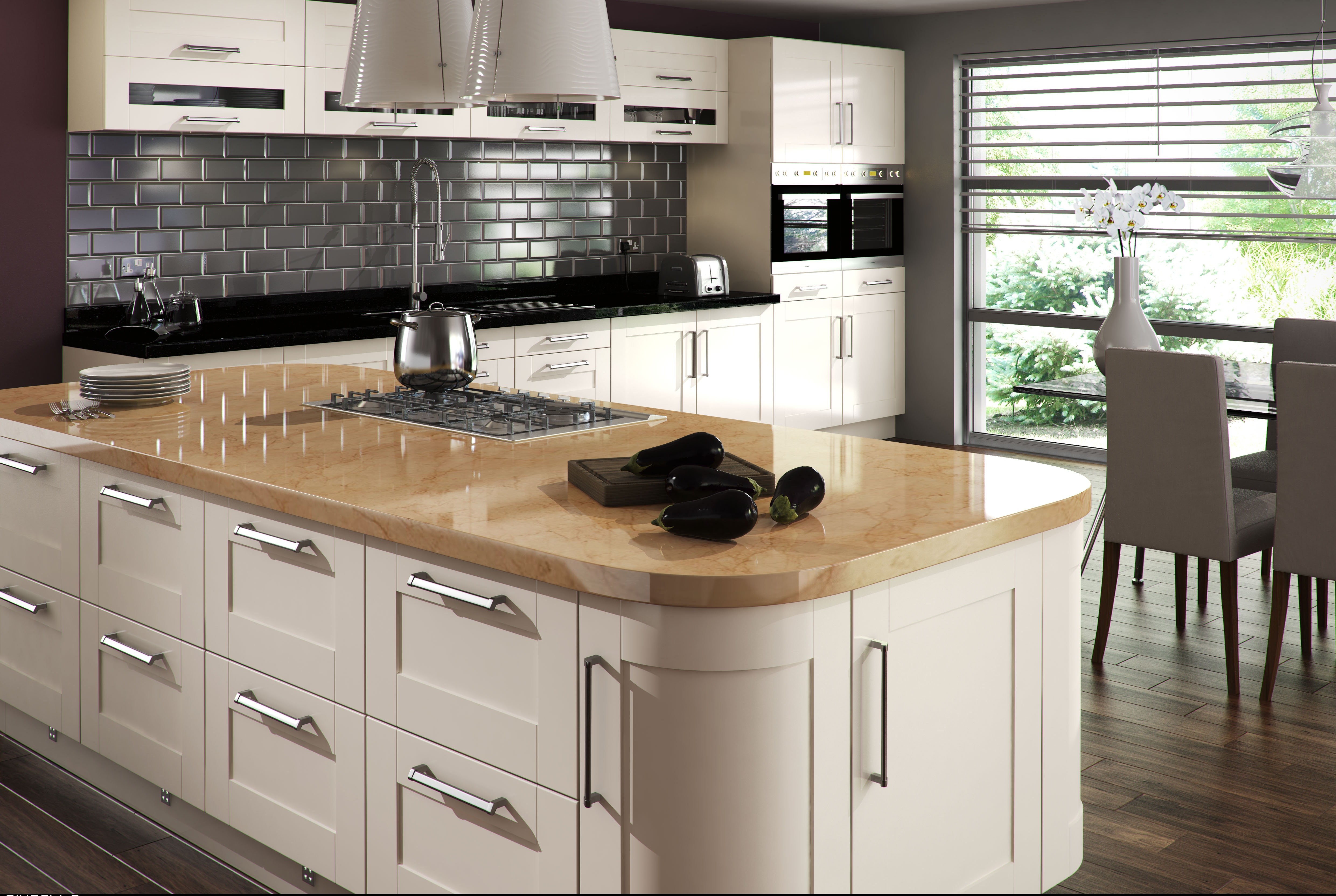 Clarke interiors fitted kitchens for Fitted kitchens