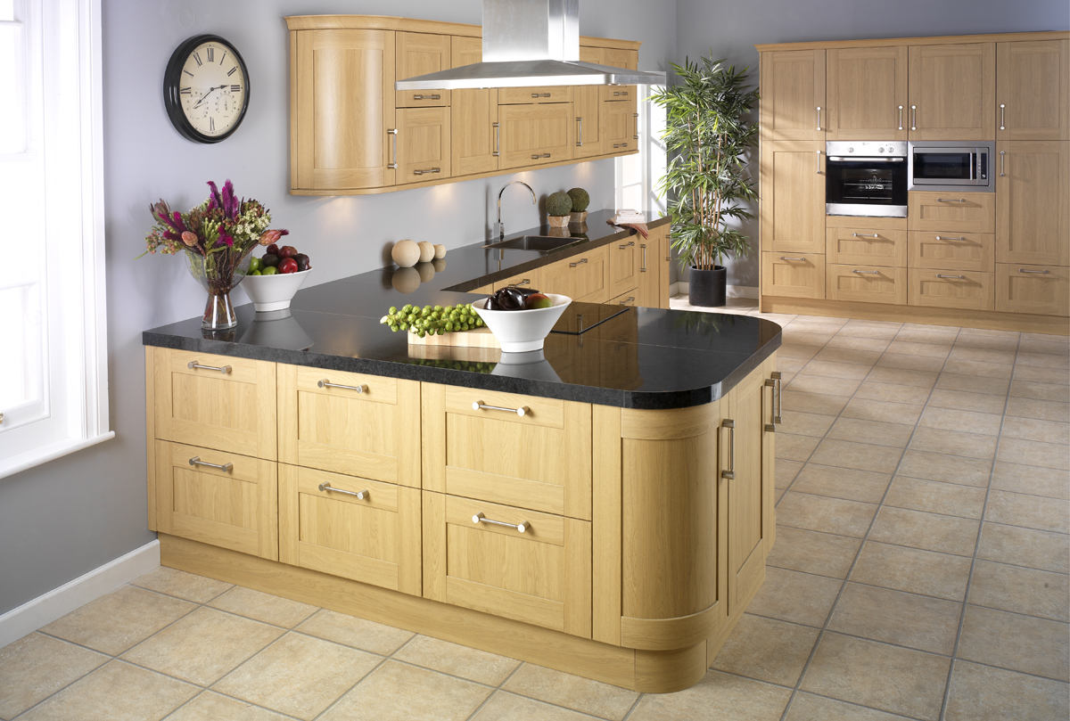 Clarke interiors fitted kitchens for Fitted kitchen drawer unit